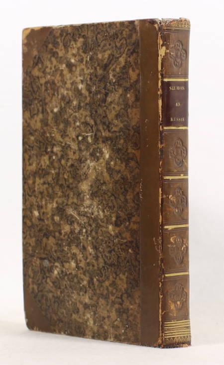 ANCELOT - Six mois en Russie - Lettres à Saintine - 1827 - Photo 1, livre rare du XIXe siècle