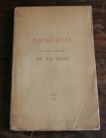 [Héraldique] Blanchard - Armorial des communes de la Seine - 1900 - Rare - Photo 1 - livre de collection