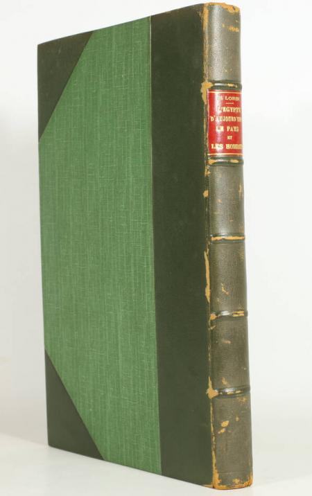Henri LORIN - L EGYPTE aujourd hui - Le pays et les hommes - 1926 - Photo 1 - livre du XXe siècle