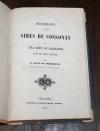 Louis de CHARRIERE - Recherches sur les sires de Cossonay et Pragins - 1845 - Photo 1, livre rare du XIXe siècle