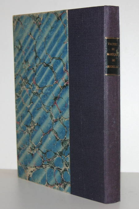 Factums concernant le maréchal duc de Richelieu - 1775-1777 - Photo 1, livre ancien du XVIIIe siècle