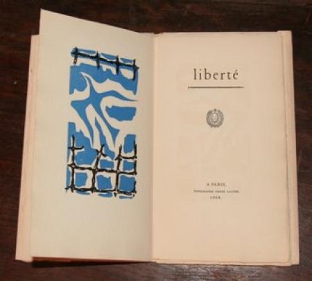 MAGET (Ernst). Liberté