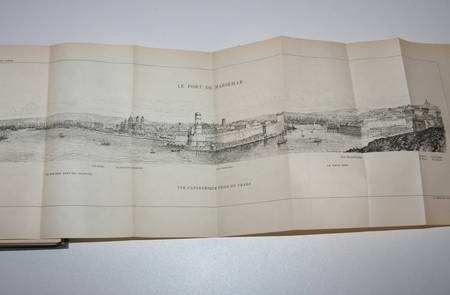 ADENIS - De Marseille à Menton 1892 - Gravures, cartes - Photo 1 - livre de collection