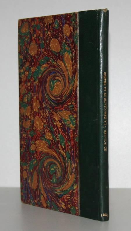SCHERER (Edmond). De la démocratie en France. Etudes, livre rare du XIXe siècle