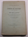 Simon Lavallette - Condition des étrangers à Rome et en France - 1880 - Thèse - Photo 0, livre rare du XIXe siècle