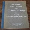HOFMANN -Traité pratique de la fabrication du papier - 1926 - Photo 1, livre rare du XXe siècle