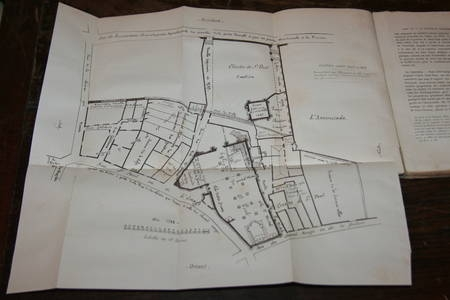 FOULQUES de VILLARET - Les antiquités de Saint Paul d'Orléans - 1884 - Photo 1 - livre de bibliophilie