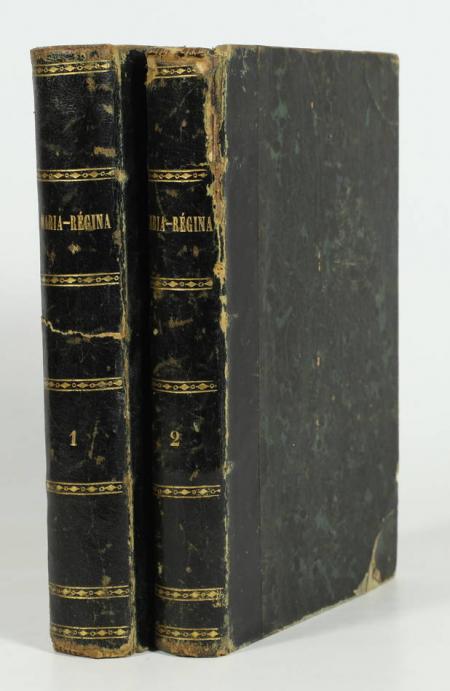 LIttérature allemande HAHN-HAHN Maria-Régina 1861 Relié 2 vol Traduc. française - Photo 0 - livre rare