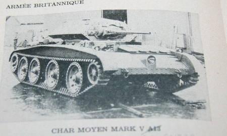 . Manuel de campagne. Service de renseignements militaires. Identification des véhicules blindés britanniques. 15 avril 1943
