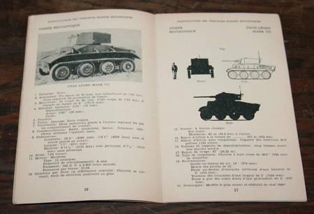 [Militaria Armes] Identification des véhicules blindés britanniques - 1943 - Photo 1 - livre moderne