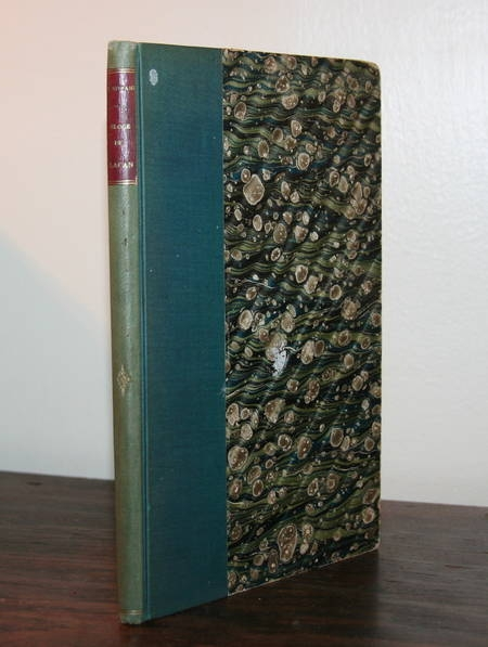 VIVIANI (René). Eloge de Lacan. Discours prononcé par M. René Viviani ... le 15 novembre 1890