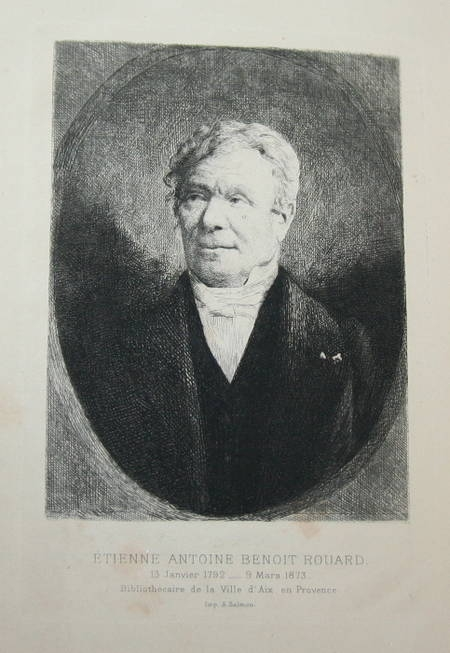 [Provence] Les livres de M. Rouard bibliothécaire d'Aix - 1879 - Photo 0, livre rare du XIXe siècle