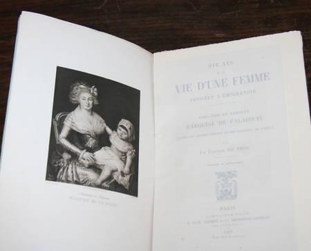 [Emigration] Vte de BROC - Adelaïde de KERJEAN, marquise de Falaiseau - 1893 - Photo 1 - livre de bibliophilie