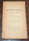 Henri Gravier - Essai sur les prévots royaux du XIe au XIVe siècle - 1904 - Photo 0, livre rare du XXe siècle
