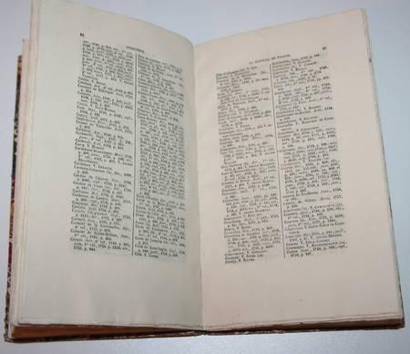 Indicateur du Mercure de France. 1672-1789 par Guigard - Photo 2 - livre d'occasion