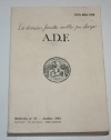 Noblesse - Juridictions et chancelleries anoblissantes - ADF 1983 - Rare - Photo 0 - livre rare