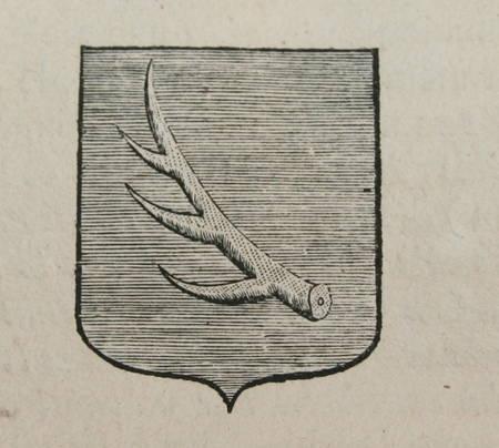 HOZIER (Louis Pierre d') et d'HOZIER DE SERIGNY. Généalogie de la famille de Banne d'Avejan, de Mongros, etc. en Languedoc, livre ancien du XVIIIe siècle