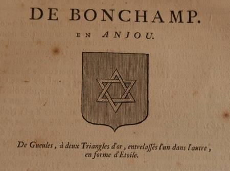 HOZIER (Louis Pierre d') et d'HOZIER DE SERIGNY. Généalogie de la famille de Bonchamp en Anjou