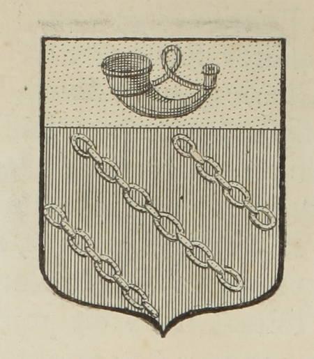 HOZIER (Louis Pierre d') et d'HOZIER DE SERIGNY. Généalogie de la famille Gérin, branche d'une famille d'Italie du surnom de Gérini. Cette branche établie en Provence