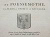 Hozier - Généalogie de Poussemothe, en Béarn - 1741 - Photo 0, livre ancien du XVIIIe siècle