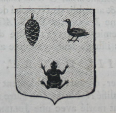 HOZIER (Louis Pierre d') et d'HOZIER DE SERIGNY. Généalogie de la famille Gervais de la Vallée et de la Mabonnaie en Bretagne, livre ancien du XVIIIe siècle