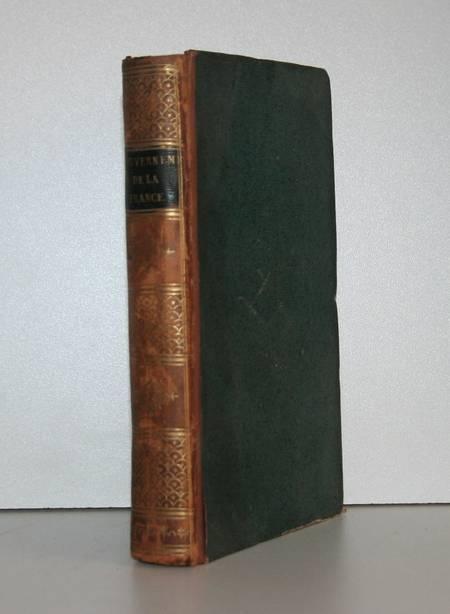 Guizot - Du gouvernement de la France - 1820 - Relié - Photo 0 - livre de collection