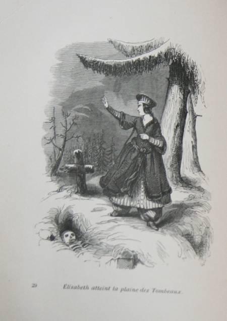 Elisabeth ou les exilés de Sibérie par Mme Cottin (vers 1840) - Relié gravures - Photo 0 - livre rare