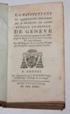 Constitutions de St François de Sales éveque de Genève - Annecy - 1773 - Photo 1, livre ancien du XVIIIe siècle