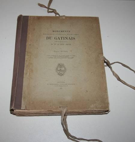 MICHEL - MONUMENTS religeux, civils et militaires du GATINAIS XIe-XVIIIe - 1887 - Photo 1 - livre de bibliophilie