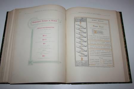 Breton - Essais progressifs sur la composition typographique des tableaux 1893 - Photo 3 - livre rare