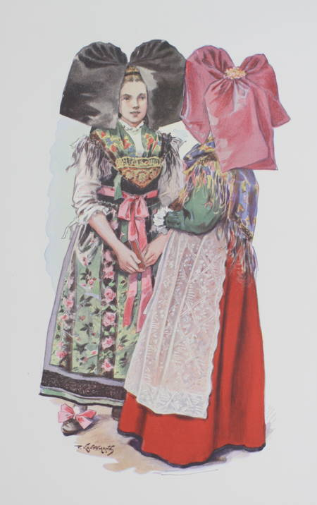 KAUFFMANN - L'Alsace traditionaliste - 1931 - EO - planches en couleurs - Photo 0 - livre d'occasion