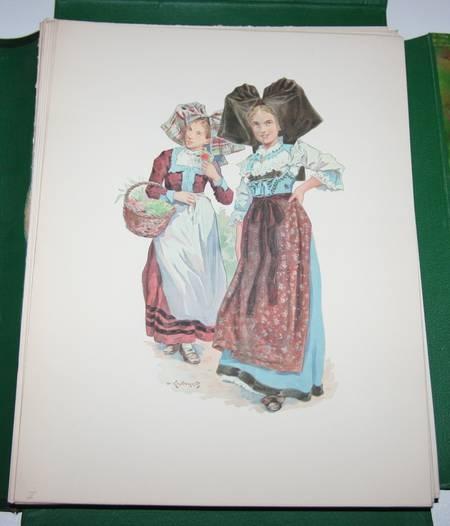 KAUFFMANN - L Alsace traditionaliste - 1931 - EO - planches en couleurs - Photo 5, livre rare du XXe siècle