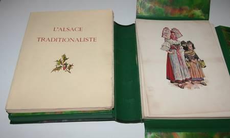 KAUFFMANN - L Alsace traditionaliste - 1931 - EO - planches en couleurs - Photo 6, livre rare du XXe siècle
