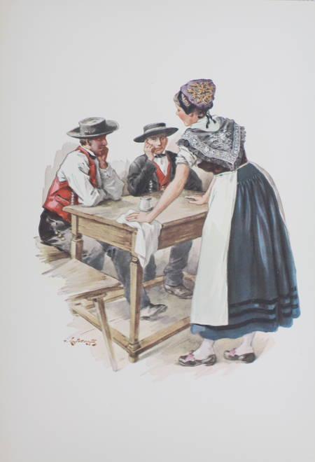 KAUFFMANN - L Alsace traditionaliste - 1931 - EO - planches en couleurs - Photo 7, livre rare du XXe siècle