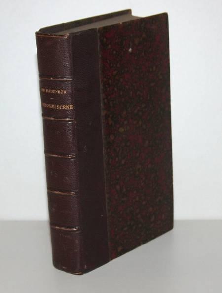 Guy de SAINT MÔR - Paris sur scène. Saison 1886-1887, 1ère année - Photo 1, livre rare du XIXe siècle