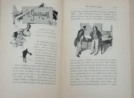 Guy de SAINT MÔR - Paris sur scène. Saison 1886-1887, 1ère année - Photo 2 - livre de bibliophilie