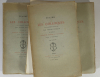 Erasme - Les colloques - 1875 - 3 volumes - Eaux fortes de Chauvet - Photo 1, livre rare du XIXe siècle