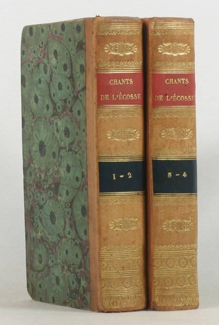 Walter Scott - Chants populaires des frontières méridionales de l'Ecosse - 1826 - Photo 0 - livre de bibliophilie