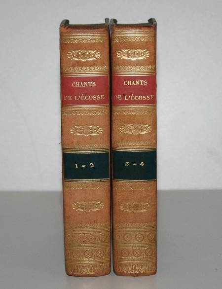 Walter Scott - Chants populaires des frontières méridionales de l'Ecosse - 1826 - Photo 2 - livre de collection