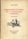 [Roanne] Prajoux - Personnages et scènes de la vie roannaise - Ill. de Jean-Mad - Photo 0, livre rare du XXe siècle