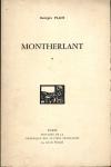 [Bibliographie] PLACE (Georges) - Montherlant - 1974 - Photo 0, livre rare du XXe siècle