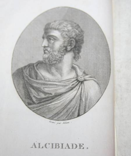 Athenian letters correspondence of an agent of Persia 1800 3 vol Portraits carte - Photo 4 - livre ancien