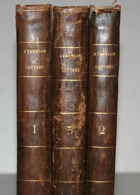Athenian letters correspondence of an agent of Persia 1800 3 vol Portraits carte - Photo 6 - livre d'occasion