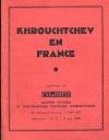 Khrouchtchev en France - B. E. I. P. I. - 1960 - Photo 0, livre rare du XXe siècle