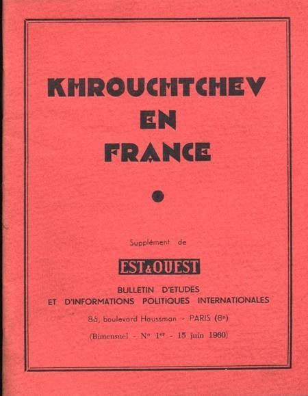 . Khrouchtchev en France