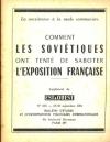 Comment les soviétiques ont tenté de saboter l exposition française - 1961 - Photo 0 - livre de collection