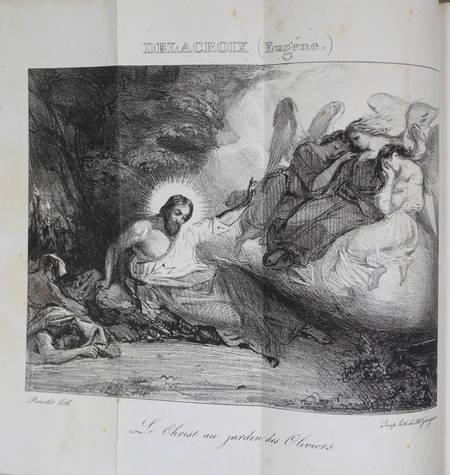 [DELACROIX, ....] Jal - Esquisses, croquis, pochades ... sur le salon de 1827 - Photo 1 - livre rare