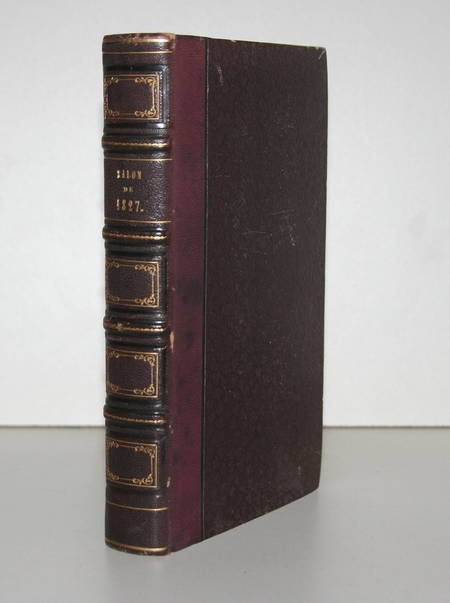[DELACROIX, ....] Jal - Esquisses, croquis, pochades ... sur le salon de 1827 - Photo 2 - livre rare