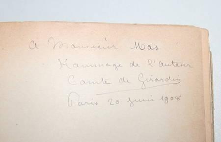 Girardin - Iconographie de Jean-Jacques Rousseau - 2 volumes - Envoi (1908-1910) - Photo 1, livre rare du XXe siècle