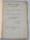 [Cambrai, Cambrésis] Bibliographie cambrésienne - 1822 - Rare - Photo 0, livre rare du XIXe siècle